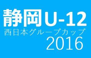 2016年度 NTT西日本グループカップ第49回静岡県ユースU-12サッカ-大会東部支部代表決定戦 県大会出場12チーム決定!