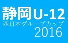 第49回NTT西日本グループカップ静岡県ユースU12サッカー大会中東部支部予選兼平成28年度第14回静岡市民清水区サッカー大会U-12 県大会出場5チーム決定!