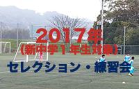 2017年度、ブレイズ熊本 新中学1年生(現小学6年生)体験練習会のご案内