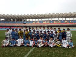 2016年度 第26回川崎カップサッカー大会第3種の部 優勝はバディーSC JY!