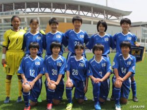 U-14 日本女子選抜 EAFF2017 韓国に4-1で惜敗、試合終了間際の1得点は最後まで諦めない「なでしこらしさ」