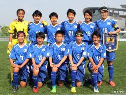 U-14日本女子選抜 朝鮮民主主義人民共和国に敗れ、初めての国際大会は1勝2敗で幕を閉じる