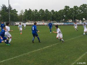 U-15日本代表 U-15イタリア代表戦ドローで2戦2分 第14回デッレナツィオーニトーナメント