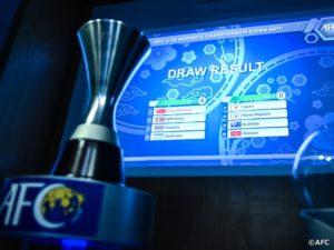 2017年度AFC U-19女子選手権中国 組み合わせ決定!韓国、オーストラリア、ベトナムと同組に