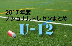 2017年度 ナショナルトレセンU-12まとめ