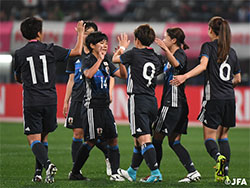 なでしこジャパン コスタリカに3-0で勝利!キリンチャレンジカップ2017 〜熊本地震復興支援マッチ がんばるばい熊本〜