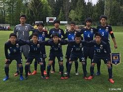 U-15日本代表 第14回デッレナツィオーニトーナメント 本日5/1 イタリアと5,6位決定戦!