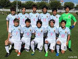 U-19日本女子代表 アメリカ遠征親善試合第2戦目も勝利で飾る!