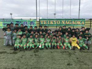 2017年度 バーモントカップ第27回全日本少年フットサル大会 群馬県西毛地区予選 優勝は高崎エヴォリスタU-12!