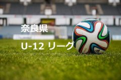 2017年度 NFAサッカーリーグ U-12(奈良)前期 1部リーグ  全日程終了しました!