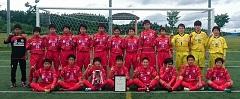 2017年度第34回日本クラブユースサッカー選手権(U15)大会青森県予選 優勝はリベロ津軽SC U-15!