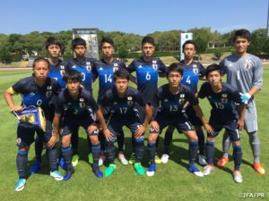 U-16日本代表 インターナショナルドリームカップ2017 初戦惜しくもオランダに敗れる