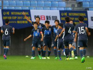 U-18日本代表 リスボン国際トーナメント初戦アメリカに勝利