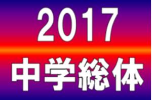 2017年度 第60回 東京都中学校サッカー選手権大会 第6支部予選 支部代表6校決定!