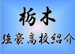 【強豪高校紹介】栃木県 國學院栃木高校(2017年度高校総体栃木県予選ベスト8)