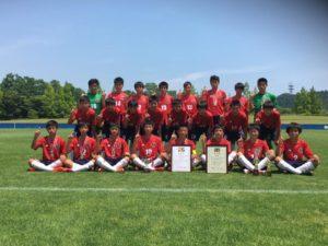 2017年度 第32回日本クラブユースサッカー選手権(U-15)東北大会  優勝はRENUOVENS OGASA FC!