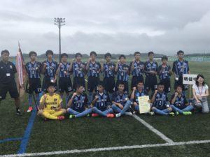 2017年度 第60回福島県中学校体育大会 サッカー大会  優勝は明健中学校!