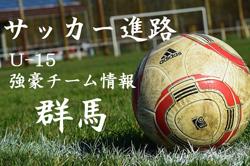 【U-15強豪チーム紹介】群馬県 前橋エコークラブJY(2017年度クラブユース選手権 群馬県予選ベスト8)