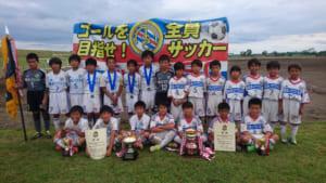 2017 平成29年第43回宇都宮市長杯少年サッカー大会U-12 Aクラス ともぞうがアベック優勝!!