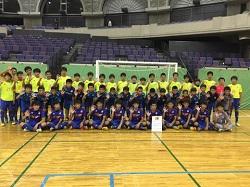 2017年度 第23回全日本ユース(U15)フットサル大会鹿児島県大会 優勝はKSC!