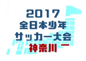 【速報】2017 全日本少年サッカー大会神奈川県予選《FA 中央大会》 ベスト4はマリノス・フロンターレ・横須賀鴨居・あざみ野! 11/23結果速報!