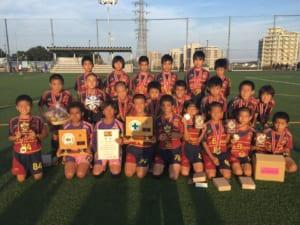 2017年度JA東京カップ第29回東京都5年生サッカー大会 優勝はFC BONOS MEGURO!