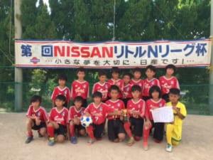 2017第25回NISSAN・リトル・Nリーグ杯サッカー大会(U-10) ヴィクサーレ・泊SC優勝!結果表掲載