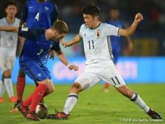 U17日本代表、フランスに敗れて1勝1敗で最終節へ ~FIFA U-17ワールドカップインド2017~