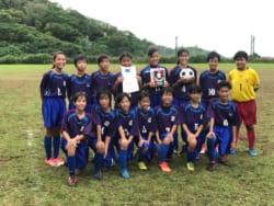 2017沖縄ガールズエイト(U-12)サッカー大会 優勝は那覇ガールズ!