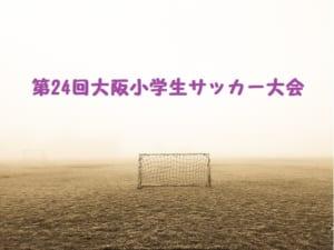 2017年度 第24回大阪小学生大会サッカー大会(U-11) 中河内地区予選 中央大会進出4チーム決定!