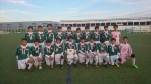 優勝はホザーリア(広島県)!2017 第3回アンジュヴィオレ西日本女子サッカー大会U-12in福山