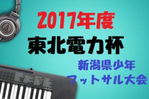 2017年度 第25回東北電力杯新潟県少年フットサル大会 中越地区予選(魚柏・県央・長岡)組合せ待ってます♪