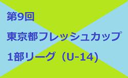 2017年度 第9回東京フレッシュカップ 2部(U-13)決勝リーグ結果掲載!日程情報お待ちしています!