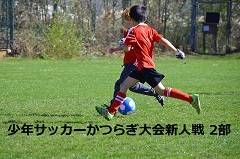 2017年度 第39回少年サッカーかつらぎ大会 新人戦 2部(U-10)結果速報!1/20.21