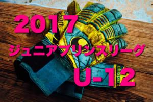 2017年度 第15回 ジュニアプリンスリーグU-12 最終結果おまちしています!!