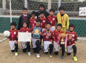 2017年度 第34回大阪市少年スポーツクラブサッカー大会 優勝は新金岡FC!