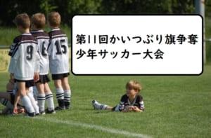 2017年度 第11回かいつぶり旗争奪少年サッカー大会 3/24,25開催!