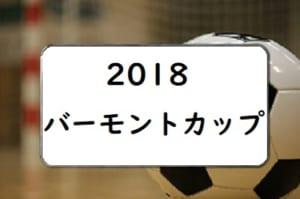 2018JFA バーモントカップ 第28回全日本U-12フットサル選手権大会広島県大会結果速報!6/23情報お待ちしています!!