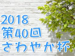 2018年度 第40回さわやか杯 高知県少年サッカー大会【5年の部】優勝はアスルクラロA!続報お待ちしています