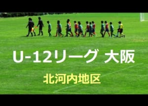 2018年度 U-12リーグ 第42回全日本少年サッカー大会 北河内地区 9/17結果更新!情報お待ちしています!