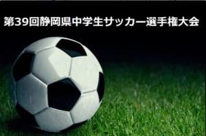 2018年度 第39回静岡県中学生サッカー選手権大会 結果速報!決勝は5/26