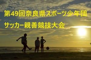 2018年度 第49回奈良県スポーツ少年団サッカー親善競技大会 結果速報!6/23.24
