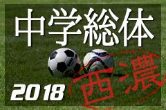 2018年度 岐阜県中学校総合体育大会サッカー大会 西濃地区予選 情報をお待ちしています!
