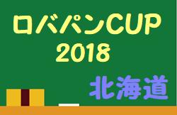 2018ロバパンCUP 第50回全道(U-12)サッカー少年団大会 優勝はAGGRE U-12!