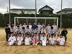 2018年度 和歌山県中学校サッカー選手権大会 優勝は河西中学校!和歌山市代表が1,2フィニッシュ!