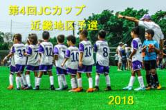 2018年度 第4回JCカップU-11少年少女サッカー大会 近畿地区予選 雨により中止!抽選の結果大宮SSが全国へ!