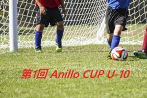 2018年度 第1回 Anillo CUP U-10 結果速報!6/23.24