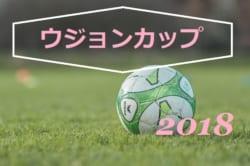 ラモスカップ公認 第19回 ウジョンカップ 2018(U-12)1日目予選組合せ掲載!8/22,23開催!