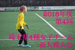 2018年度 第4回埼玉県4種少女チーム新人戦大会 情報お待ちしています!