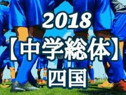 2018年度 第56回 四国中学校総合体育大会 サッカー競技(高知県) 優勝は小野中学校!結果表掲載